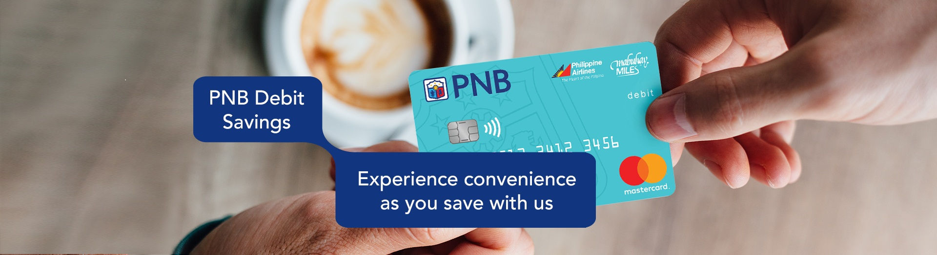 PNB PAL Mabuhay Miles Debit Mastercard Savings