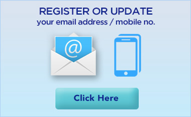 Register or Update your Email Address or Contact Number