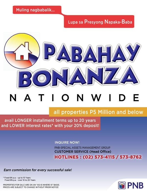Pabahay Bonanza - Philippine National Bank
