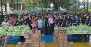 PNB brings help to 200 Bulacan families