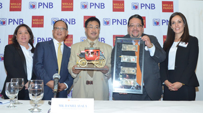 PNB and Wells Fargo to offer U.S. remittances to customers in Philippines
