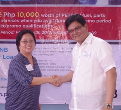 PNB Partners with Auto Camp Ortigas