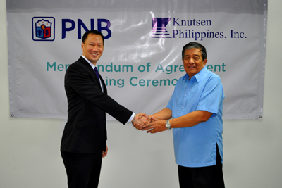 PNB Appointed as Trustee for Knutsen Philippines Inc. Employee Retirement Fund