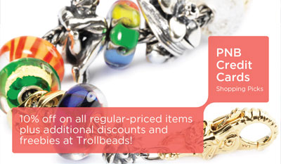 Get the Perfect Christmas Gift at Trollbeads with PNB Credit Cards