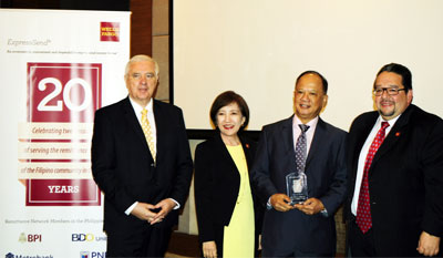 Wells Fargo Celebrates 20 years of Remittances in the Philippines